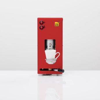 Macchinetta da caffè 12V rossa